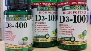 NB Vitamin D..